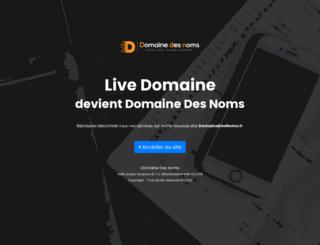 livedomaine.com screenshot