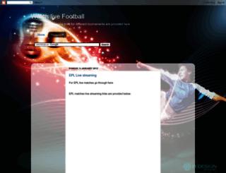 livefootbal.blogspot.co.uk screenshot