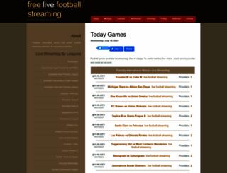livefootballstreaming247.com screenshot