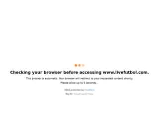livefutbol.com screenshot