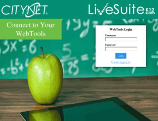 livegrades.citynet.net screenshot