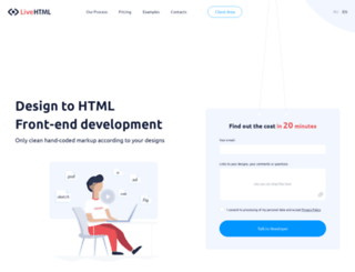 livehtml.io screenshot