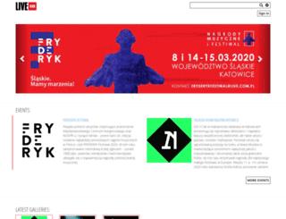 livehub.com.pl screenshot