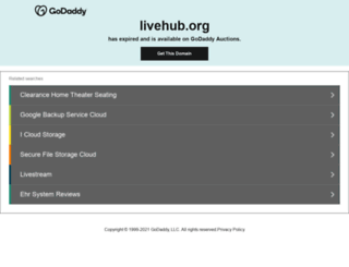 livehub.org screenshot