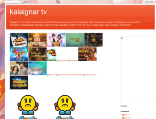 livekalaignartv.blogspot.in screenshot