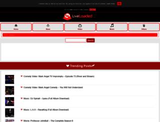 liveloaded.com screenshot