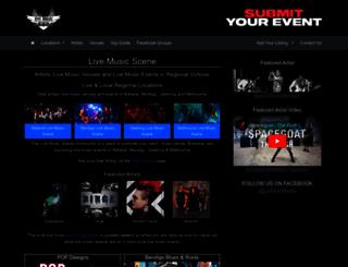 livemusicscene.com.au screenshot