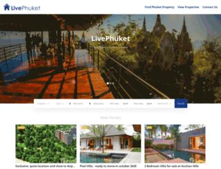 livephuket.com screenshot
