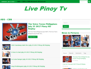 livepinoytv.net screenshot