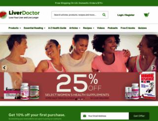 liverdoctor.com screenshot