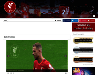 liverpoolway.co.uk screenshot