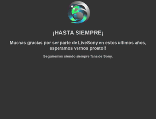 livesony.com screenshot