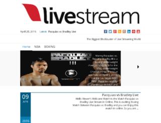 livestreamtvsports.com screenshot
