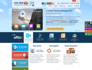 livetechexchange.com screenshot