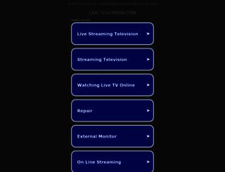 livetvscreen.com screenshot