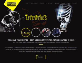 livewires.org.in screenshot