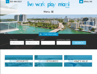 liveworkplaymiami.yourkwagent.com screenshot