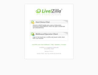 livezilla.pronetgaming.com screenshot