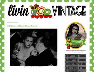 livin-vintage.com screenshot