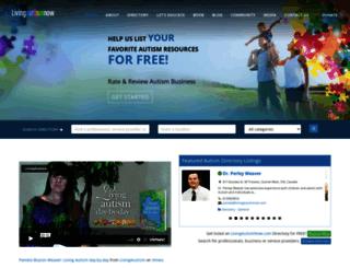 livingautismnow.com screenshot