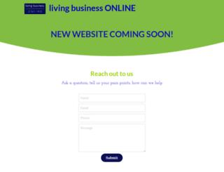 livingbusinessonline.com screenshot