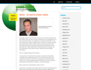livingebook.wordpress.com screenshot