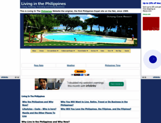 livinginthephilippines.com screenshot