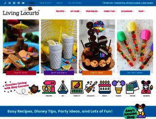 livinglocurto.com screenshot