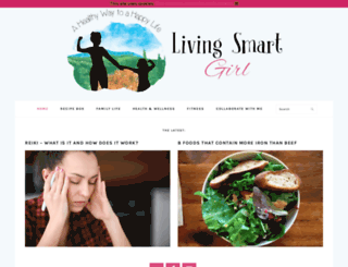 livingsmartgirl.com screenshot