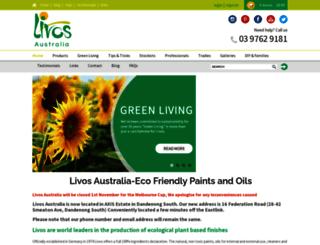 livos.com.au screenshot