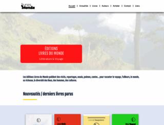 livresdumonde.net screenshot