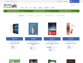 livresenfamille.fr screenshot