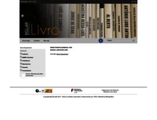 livro.dglab.gov.pt screenshot