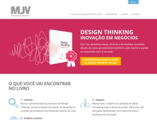 livrodesignthinking.com.br screenshot