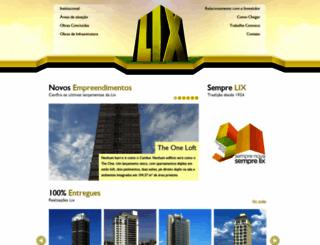 lix.com.br screenshot