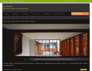 lixdecor.com screenshot