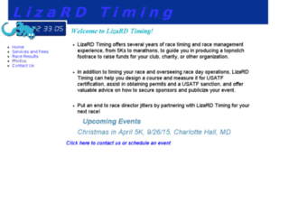 lizardtiming.com screenshot