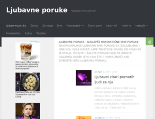 ljubavneporuke.info screenshot