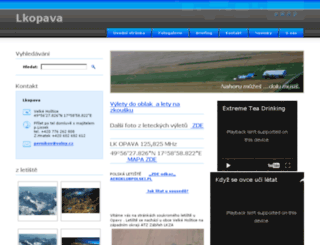 lkopava.cz screenshot