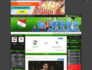 lksizdebkimlodziez.futbolowo.pl screenshot