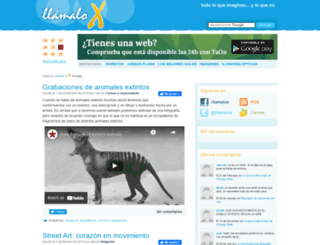llamaloxblog.es screenshot