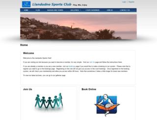 llandudnosportsclub.co.za screenshot