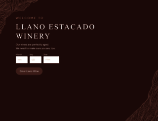 llanowine.com screenshot