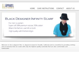 llapparel.com screenshot