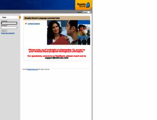llcmd.rosettastoneenterprise.com screenshot