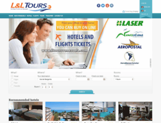 lltoursvenezuela.com screenshot