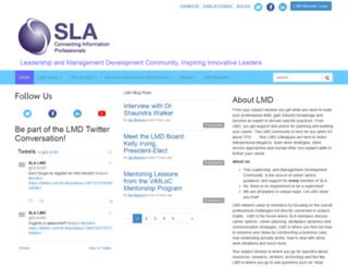 lmd.sla.org screenshot
