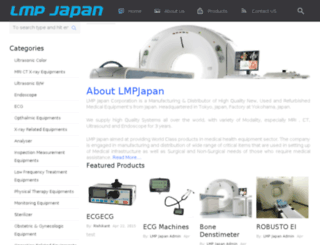 lmpjapanmedical.com screenshot