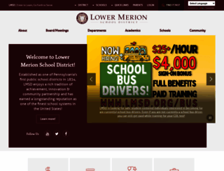 lmsd.org screenshot