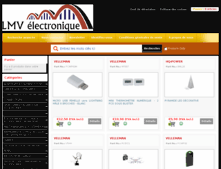 lmvelectronique.fr screenshot